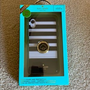 Kate Spade ring stand and case for iPhone XR